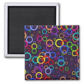 Circle Wallpaper Magnet