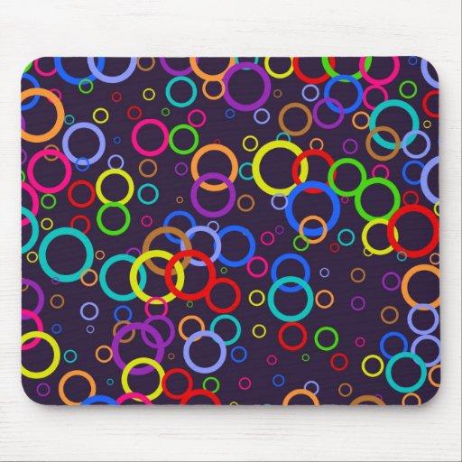 Circle Wallpaper Mouse Pads