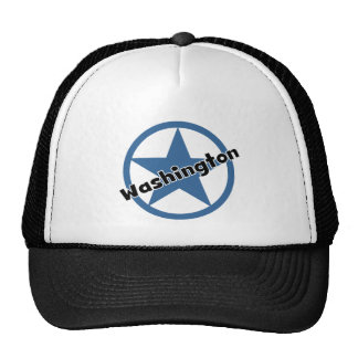 Circle Washington Trucker Hat