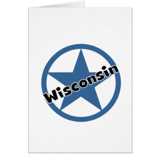Circle Wisconsin Card