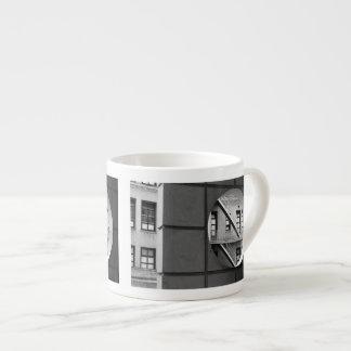 Circle With Fire Escape 6 Oz Ceramic Espresso Cup