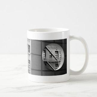 Circle With Fire Escape Classic White Coffee Mug