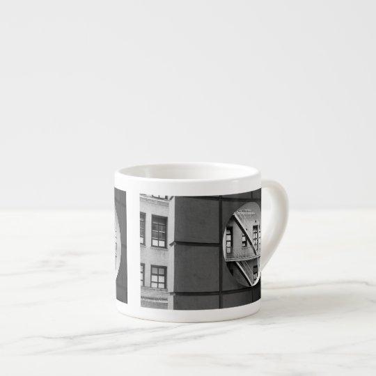 Circle With Fire Escape Espresso Cup