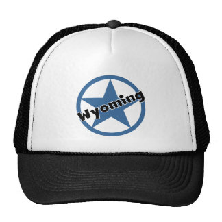 Circle Wyoming Trucker Hat