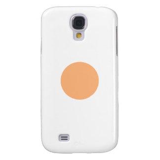 Circle Yellow 1485 c Sq Circle Trans-2 The MUSEUM Samsung Galaxy S4 Cover