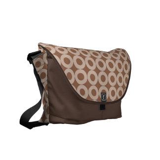 Circled Rickshaw Messenger Bag