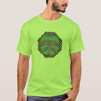 circlerainbowmessiahcelticblack T-Shirt