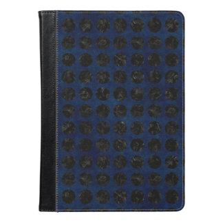 CIRCLES1 BLACK MARBLE & BLUE DENIM (R) iPad AIR CASE