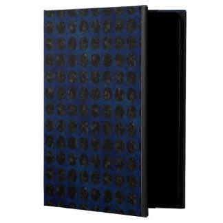CIRCLES1 BLACK MARBLE & BLUE DENIM (R) POWIS iPad AIR 2 CASE