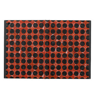 CIRCLES1 BLACK MARBLE & RED MARBLE (R) CASE FOR iPad AIR