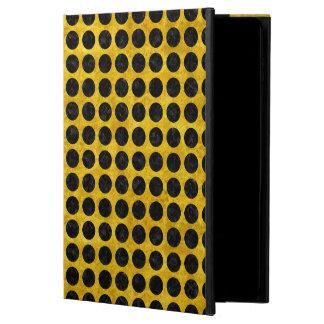 CIRCLES1 BLACK MARBLE & YELLOW MARBLE (R) POWIS iPad AIR 2 CASE