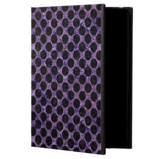 CIRCLES2 BLACK MARBLE & PURPLE MARBLE (R) POWIS iPad AIR 2 CASE