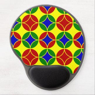 Circles-01-GEL primario MOUSEPAD Alfombrilla De Raton Con Gel