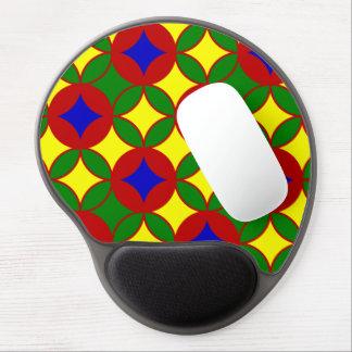 Circles-02-GEL primario MOUSEPAD Alfombrillas De Ratón Con Gel
