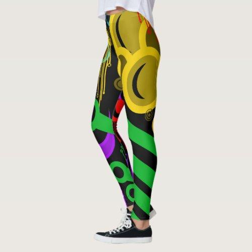 circles 1 leggings