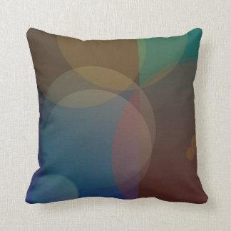 Circles - Abstract Throw Pillow Design Pillow