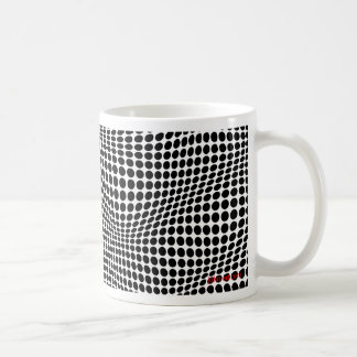 circles and hills 1 coffee mug