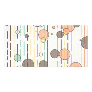Circles and lines card