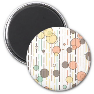 Circles and lines magnet