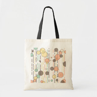 Circles and lines tote bag