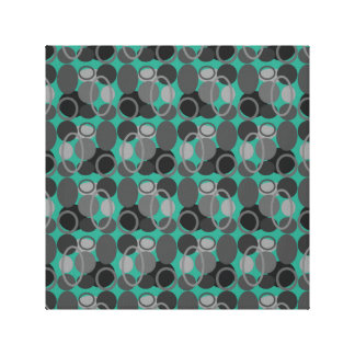 Circles and Ovals Canvas Wall Art