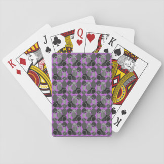 Circles and Ovals Pink Deck of Cards