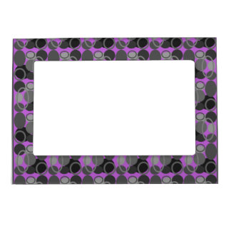 Circles and Ovals Pink Picture Frame