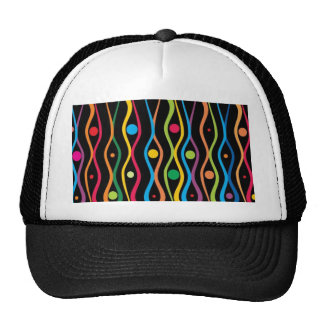 Circles and ripples trucker hat