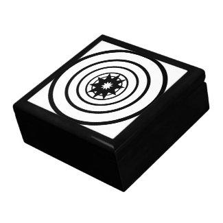 Circles and Star Jewelry Box