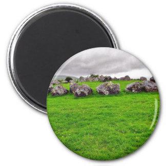 Circles At Carrowmore Refrigerator Magnets