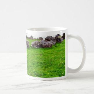 Circles At Carrowmore Classic White Coffee Mug
