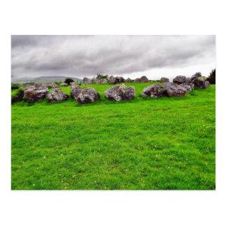 Circles At Carrowmore Postcard