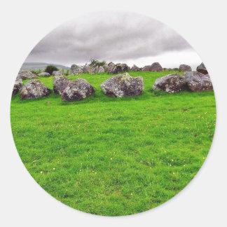 Circles At Carrowmore Sticker