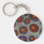 circle's by S.B. Eazle Key Chain