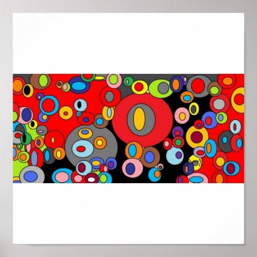 Circles circles 3 poster