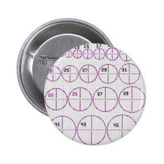 Circles Circles Everywhere Button