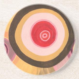 Circles & Circles Sandstone Coaster