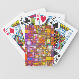 Circles City Bicycle Playing Cards
