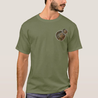 CIRCLES DESIGN WITH SEQUOIA BARK DETAILS T-Shirt