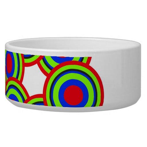Circles Dog Bowls