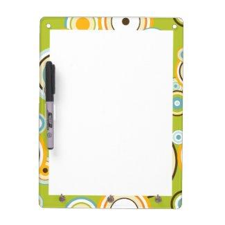 Circles Dry Erase Board