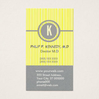 Circles Edgy Business  W/ Appointment Business Card