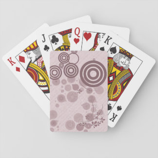 Circles & Florals Playing Cards