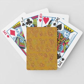 CIRCLES GOLDEN BICYCLE CARD DECK