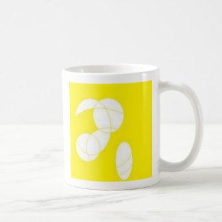 Circles in part classic white coffee mug