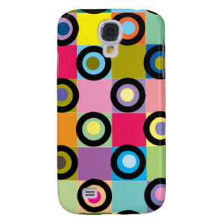 Circles In Squares iPhone 3G Case iPhone Skin Samsung Galaxy S4 Cover