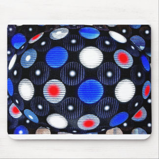 Circles in time mouse pad