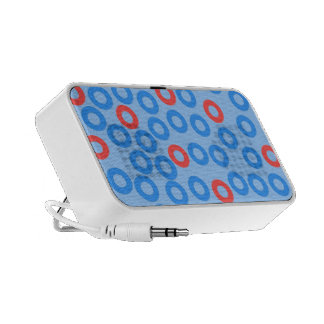 Circles ipod case travelling speakers