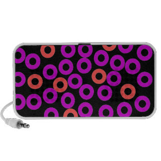 Circles ipod case travel speakers