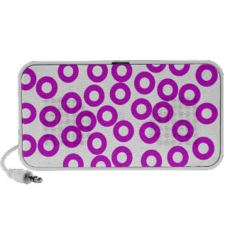 Circles ipod case portable speakers